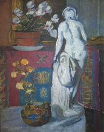Still Life with Statue